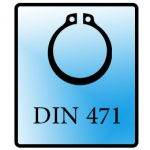 خار فنری DIN 472